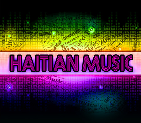 haitian: Haitian Music Showing Sound Track And Musical