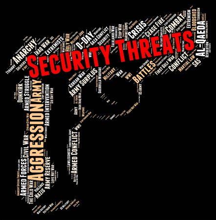 intimidating: Security Threats Meaning Threatening Remark And Protected