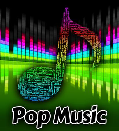 harmonies: Pop Music Representing Sound Tracks And Songs