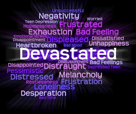devastated: Devastated Word Meaning Dumbfounded Devastating And Shocked