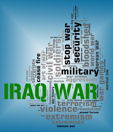 clashes: Iraq War Showing Combat Fighting And Hostility