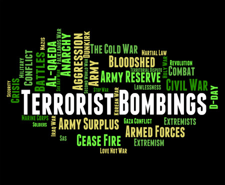 radicals: Terrorist Bombings Representing Urban Guerrilla And Subversive