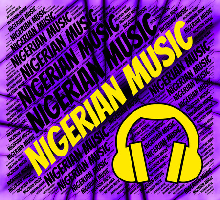 soundtrack: Nigerian Music Indicating Sound Track And Audio