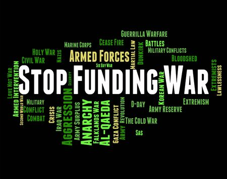 ventures: Stop Funding War Showing Military Action And Prohibit