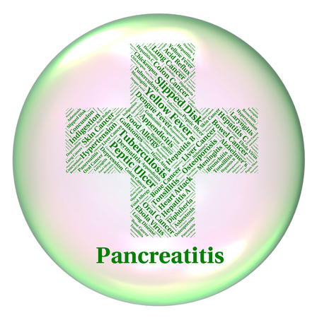 poor health: Pancreatitis Illness Indicating Poor Health And Infection