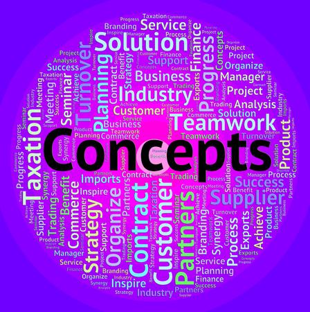 hipótesis: Conceptos Palabra de indicación Abstracción pensar y Teoría