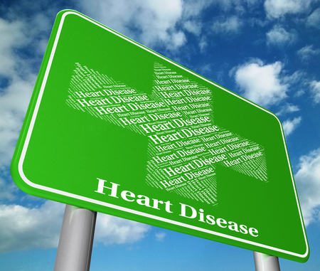 affliction: Heart Disease Showing Congenial Affliction And Failure Stock Photo