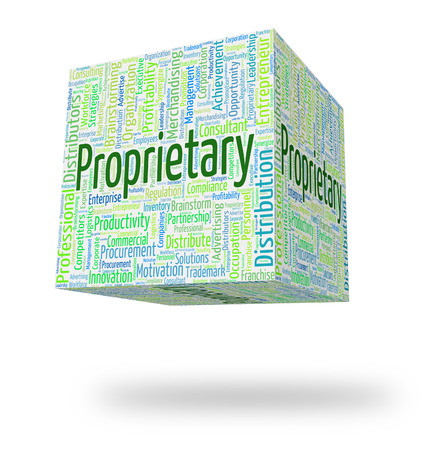 proprietary: Proprietary Word Representing Rights Wordclouds And Wordcloud