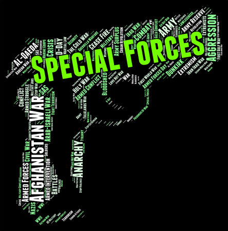 noteworthy: Special Forces Meaning Targets. Manhunting And Wordclouds