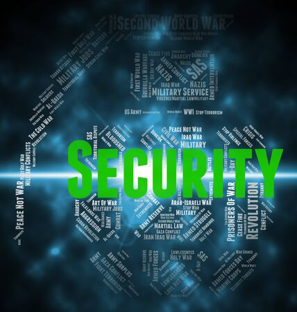 encrypt: Security Word Representing Encrypt Wordclouds And Login Stock Photo
