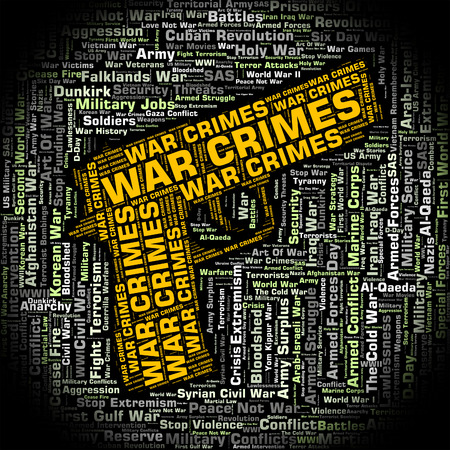 clashes: War Crimes Showing Unlawful Act And Words