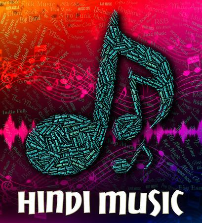 Hindi Music Stock Photos And Images - 123RF