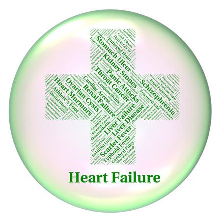 insuficiencia cardiaca: Insuficiencia Card�aca Significado mala salud y las infecciones