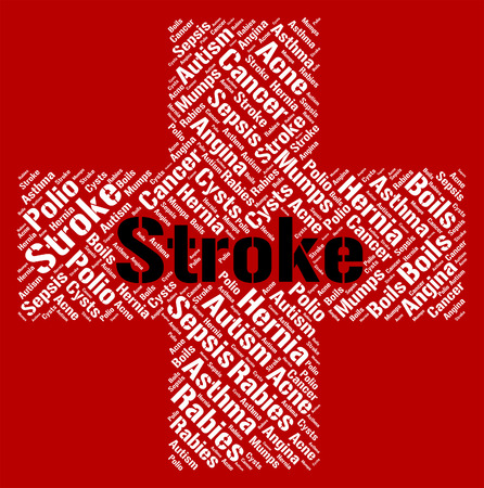 transient: Stroke Illness Representing Transient Ischemic Attack And Cell Death