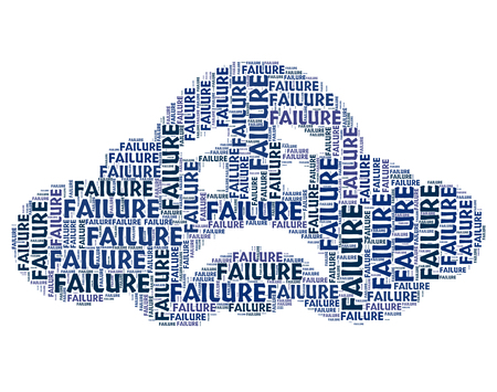 fails: Failure Word Meaning Lack Of Success And Text Unsuccessful