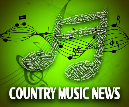 country music: Country Music Nachrichten Bedeutung Sound Track And Country-und-Western-