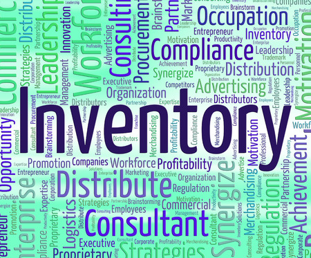 inventories: Inventory Word Indicating Merchandise Storage And Inventories