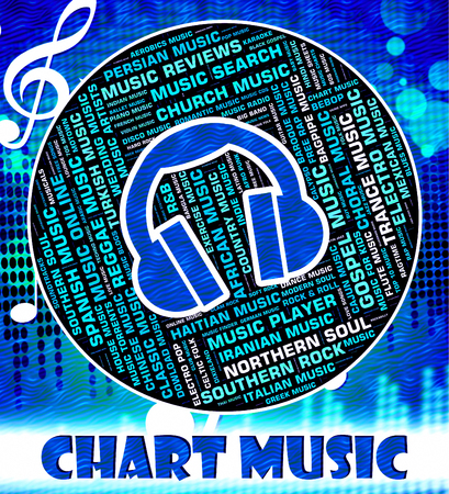 soundtrack: Chart Music Indicating Sound Track And Soundtrack
