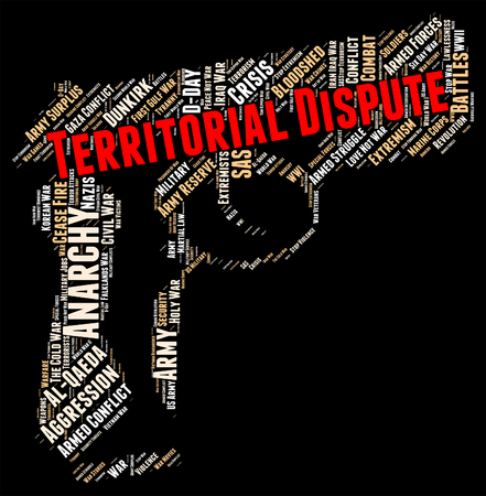 territorial: Territorial Dispute Showing Difference Of Opinion And Falling Out