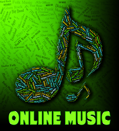 melodies: Online Music Showing World Wide Web And Sound Tracks