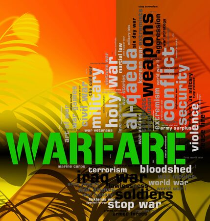 clashes: Warfare Word Meaning Wars Fights And Conflicts