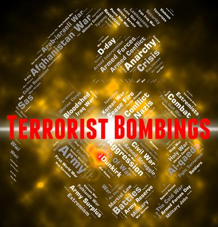 bombings: Terrorist Bombings Showing Urban Guerrilla And Anarchist