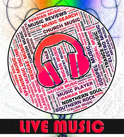 harmonies: Live Music Representing Sound Tracks And Harmonies