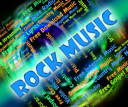 melodies: Rock Music Representing Sound Tracks And Melodies