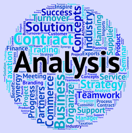 Analysis Word Indicating Data Analytics And Analyze