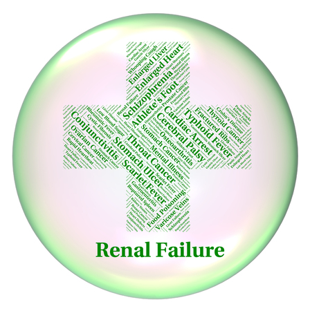 afflictions: Renal Failure Representing Chronic Kidney Disease And Chronic Kidney Disease