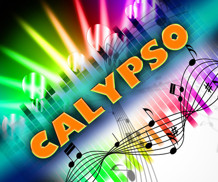 soundtrack: Calypso Music Representing West Indies And Song