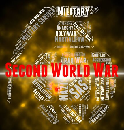 clash: Second World War Meaning Word Wordcloud And Clash