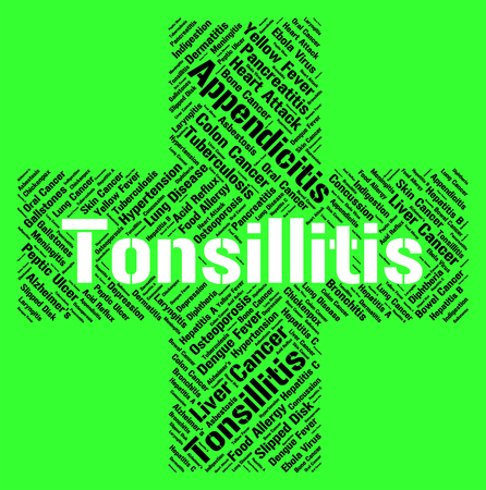 tonsillitis: Tonsillitis Word Meaning Strep Throat And Sickness