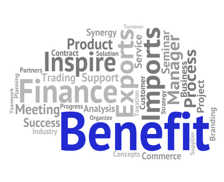 wordcloud: Benefit Word Showing Wordcloud Compensation And Pay