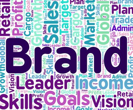 brand identity: Brand Word Indicating Company Identity And Trademarks