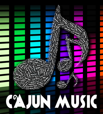 melodies: Cajun Music Representing Sound Tracks And Cajuns