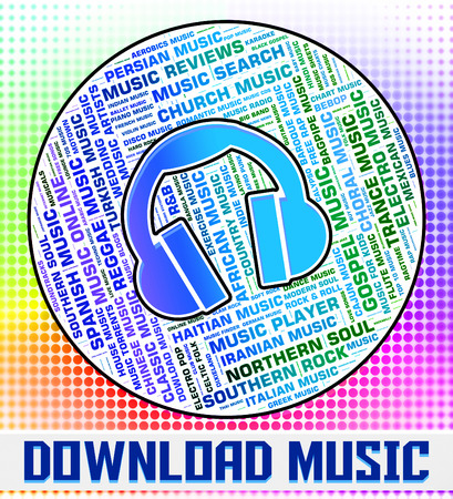 downloaded: Download Music Representing Sound Track And Downloads