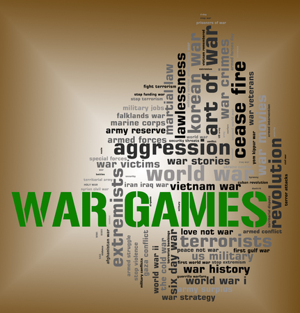 play time: War Games Indicating Play Time And Fights