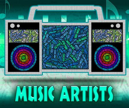 harmonies: Music Artists Indicating Sound Tracks And Harmonies