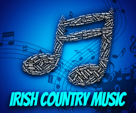 country music: Irish Country Music Darstellen Sound Track And Republik