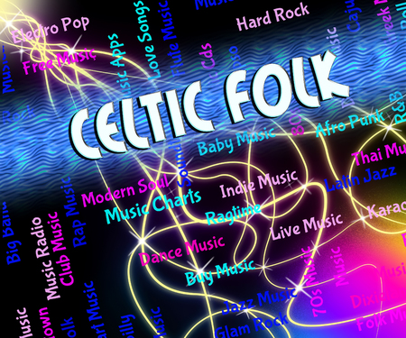 celts: Celtic Folk Showing Sound Tracks And Tune