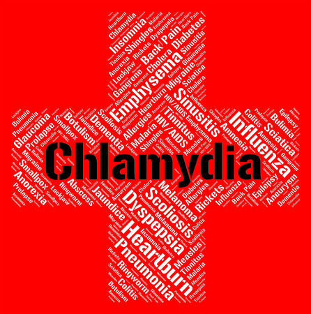 sexually transmitted disease: Chlamydia Word Meaning Sexually Transmitted Disease And Ill Health