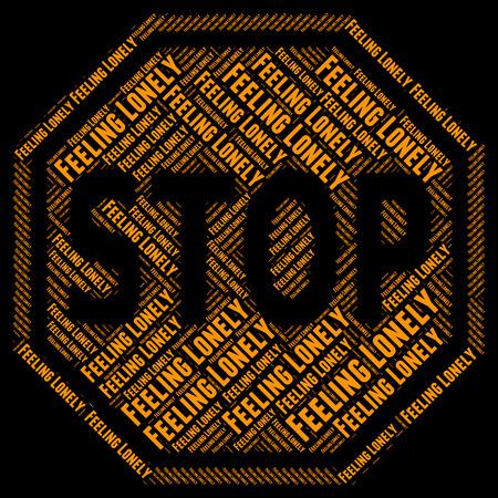 ungeliebt: Stoppen einsam Zeige Warnzeichen und Outcast