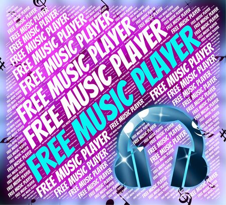 melodies: Free Music Player Showing No Cost And Melodies