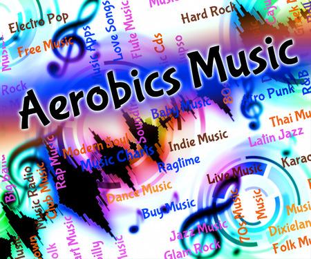 soundtrack: Aerobics Music Representing Sound Track And Slimnastics