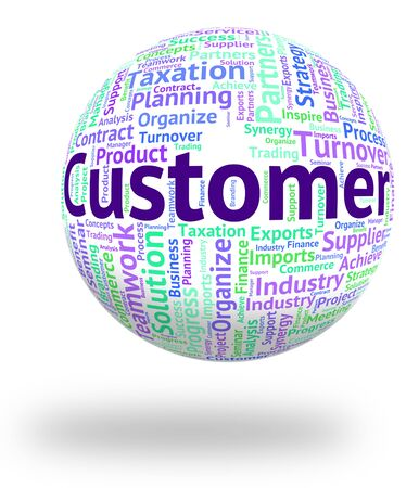 purchaser: Customer Word Meaning Shopper Wordcloud And Purchaser