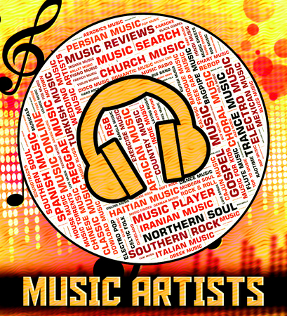 melodies: Music Artists Representing Sound Track And Harmony