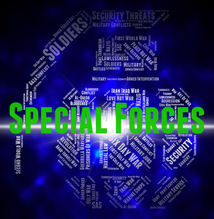 special forces: Special Forces Indicating High Value And Counter