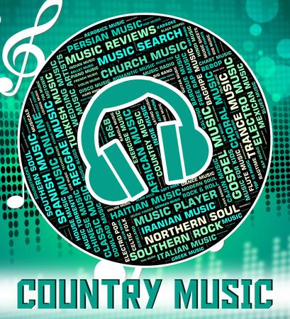 harmonies: Country Music Indicating Sound Tracks And Harmonies