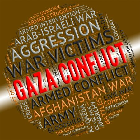 clashes: Gaza Conflict Meaning Armed Conflicts And Fighting